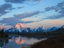 Oxbow Bend and Mount Moran