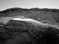 Mesa Arch - 5D-10572 - BW