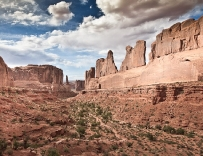 Park Avenue, Moab, Arches National Park