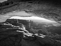 Mesa Arch - 5D-10635 - BW