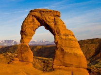 Delicate Arch in Arches National Park near Moab, Utah