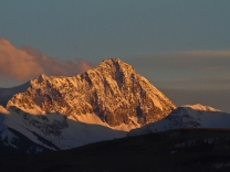 Sundown at Capital Peak